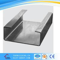 Galvanized Metal Frame C Cold Rolled Channel