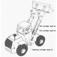 Buy cheap Models included in the repair kits of wheel loader seals product