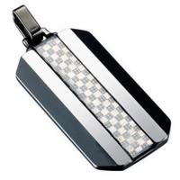 Buy cheap Carbon Fiber COI Tungsten Carbide Pendant With Carbon Fiber - TG1046 from wholesalers