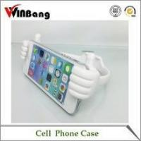 Buy cheap New Cute Thumb Shape Silicone Mobile Phone Holder for Desk product