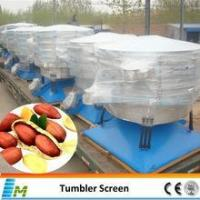 Tumbler peanut screening machine
