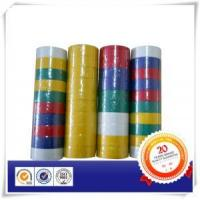 Buy cheap Matt Rubber Based Adhesive PVC Tape In Colors product