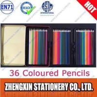 Buy cheap 36 coloured pencils in tin box product
