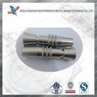 Buy cheap titanium alloy drawing mechanical processing parts as your requirement product