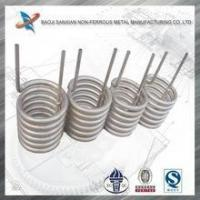 Gr1,Gr2 titanium coil tube for heat exchanger