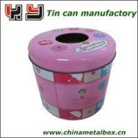 Buy cheap Round Tissue Tin Box 135(D)*120(H)mm product