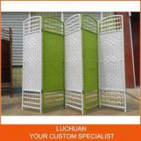 Buy cheap Fashionable China Supplier Handcraft Straw Room Divider Screen product