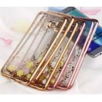 Luxury Electroplate Crystal Transparent TPU Case for Samsung Galaxy S6 edge