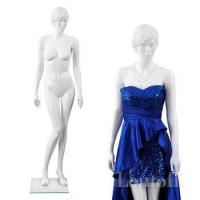 Buy cheap full body white glossy realistic sexy female mannequins product