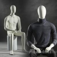 Buy cheap New arrival sitting men mannequins for window display shop product