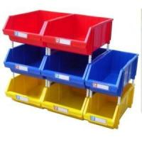 Buy cheap warehouse stackable plastic storage bin for small parts product