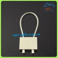 Buy cheap wire rope metal keyring keychain product