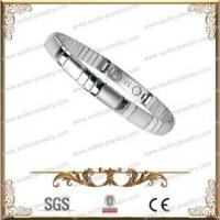 Buy cheap High Polished 316L Stainless Steel Magnetic Bracelet,Good For Health product