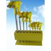 Buy cheap 9 pcs hex key wrench set / Allen wrench set product
