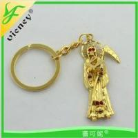 Promotion Product Customer Gold Madonna Style Key chain