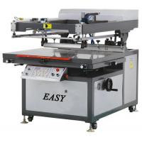 Buy cheap S-JY70100 Clam Shell Flat Bed Screen Printing Machine product