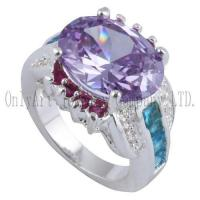 Buy cheap OAR0291 Chinese factory price silver jewelry with CZ product