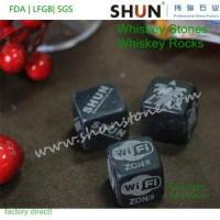 Customized whiskey stones with your own logo