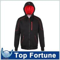 Buy cheap Hoodie polyester berber Fleece hoodie,men zipper hoodie with lining ,men stylish hoodie for european product