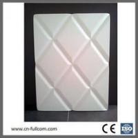 Buy cheap Geometric modeling PVC membrane door for cabinet product