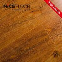 China 8mm 12mm hdf V-groove painted german techniquel aminate flooring on sale