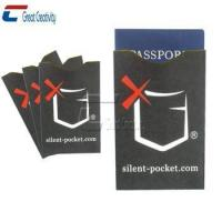 Buy cheap Anti thief rfid blocking card sleeve product