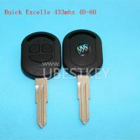 China Buick Excelle 3-button remote key (433MHZ) on sale