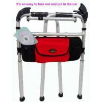 Buy cheap stair and slope walker aluminium foldable stair climbing walker with seat and pouch from Wholesalers