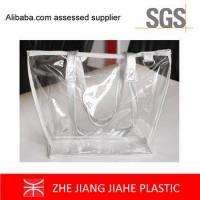non branded shopping bags Fashion Clear PVC Bag Tote bags