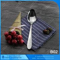 All stainless steel items B02 Mirror polishing spoon