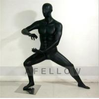 Buy cheap Kung fu 3 Male men display model black color Kung Fu Chinese traditional style mannequin product