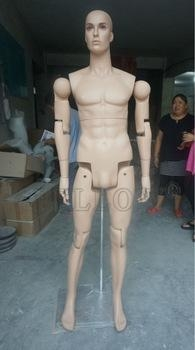 Quality USD180 movable adjustable joints male and female mannequins for sale