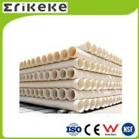 Buy cheap PVC pipe and fittings Wholesale corrugated drain pipe double wall pvc pipe product