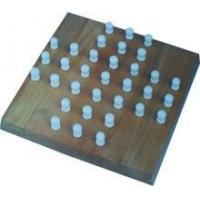 Buy cheap Wooden solitaire board game / chess game set / wooden chess pieces product