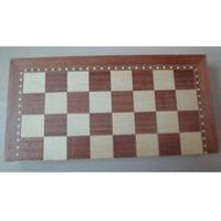 Backgammon checkers chess game set Chess box