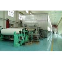 Buy cheap Manufacture of 1760mm Double Cylinder Double Wire Newsprint Paper Making Production Line product
