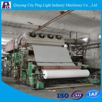 Manufacture of 2400mm Toilet Tissue Paper Making Machinery Production Line