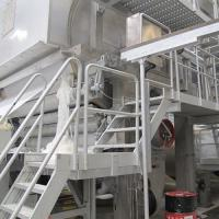 Buy cheap Manufacture of 2400mm Fourdrinier Wire Single Cylinder Toliet Tissue Paper Making Machine product