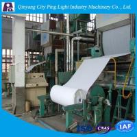 Buy cheap Manufacture of 1092mm Toilet Tissue Paper Production Line Made from Rice Straw/Reed product