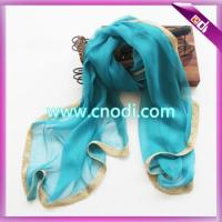 Buy cheap scarf with golden band from wholesalers