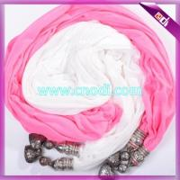Buy cheap Jewelry Scarf With Beads from wholesalers