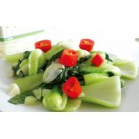 Buy cheap Sauteed green vegetable with garlic product