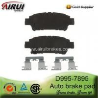 Buy cheap D995-7895 Auto Brake Pad for Toyota Sienna product