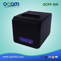 Buy cheap OCPP-80F: 3 inch bill POS receipt thermal printer price 58mm and 80mm width paper avaliable product