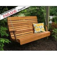 Buy cheap Red Cedar Royal Highback Porch Swing product