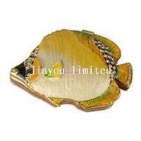 Buy cheap TBP0005Y-Tropical Fish Trinket Box nautical gifts for her/him faberge jewelry box product