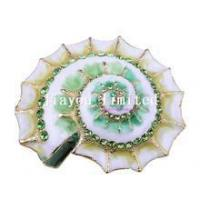 Buy cheap TBP0062G-shell bejeweled box nautical gifts faberge trinket box crafts product