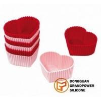 Buy cheap Heart Cup Cake Molds product