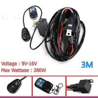 Buy cheap APWH-412V 40A 360W 1 to 2 flash Remote Control Wiring Harness Kit product