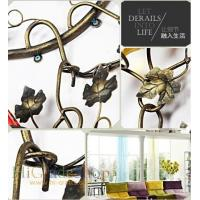 Buy cheap Wall-mounted Iron Wine Rack Wall-hanging Style design Home decoration Metal craft from wholesalers